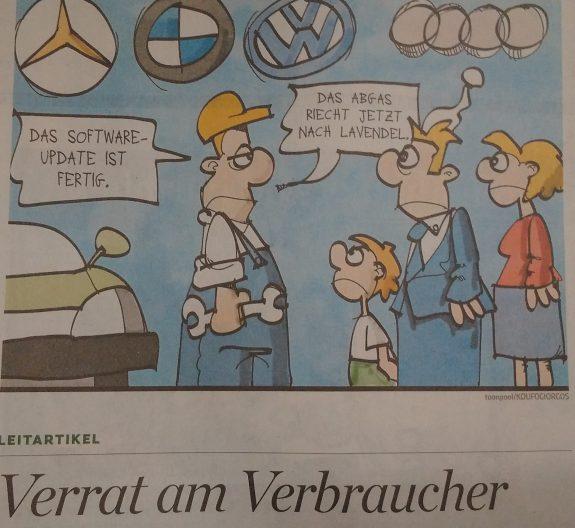 Krisen-PR: Wer hat eigentlich den VW-Chef auf den Diesel-Gipfel vorbereitet?