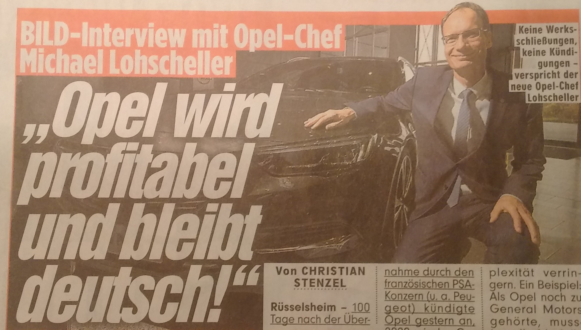 Krisen-PR Opel