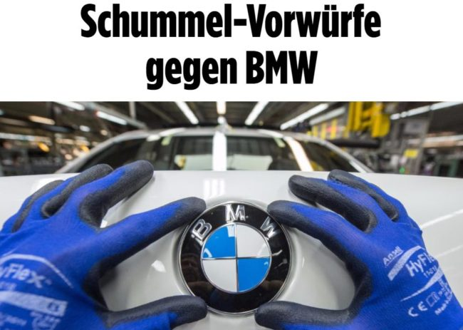 Krisen-PR BMW