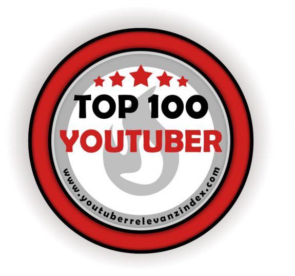 Logo Top 100 YouTuber