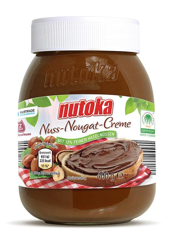 """Gut für die Reputation: ein Glas Fair-Trade-Kakao-""""Nutoka"""" von Aldi-Süd."""