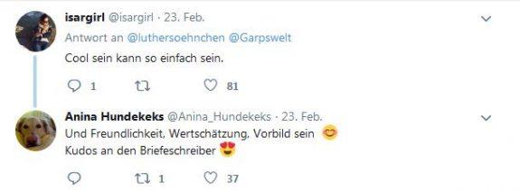 Twitter-Screenshot Kommentare Scherbe Römisch-Germansiches Museum 1