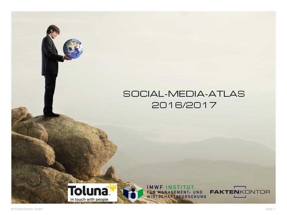 Social Media-Atlas 2016 / 2017