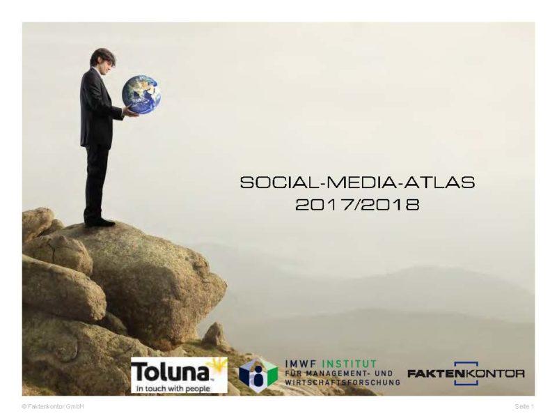 Social Media-Atlas 2017 / 2018