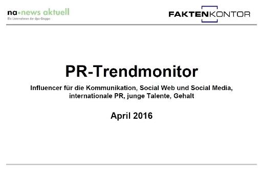 PR-Trendmonitor Apr. 16