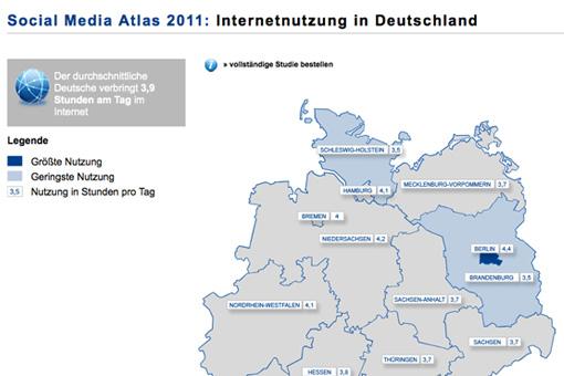 Social Media-Atlas 2011