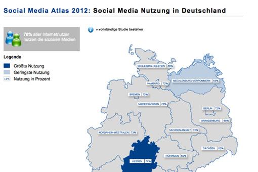 Social Media-Atlas 2012