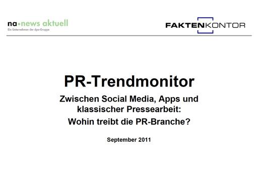 PR-Trendmonitor Sep. ´11