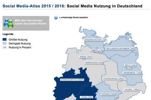 Social Media-Atlas 2015 / 2016