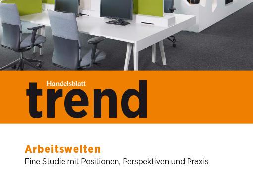 Handelsblatt trend Arbeitswelten